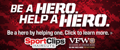 Sport Clips Haircuts of Tampa - Gandy Shoppes ​ Help a Hero Campaign